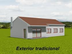 Casa prefabricada tradicional