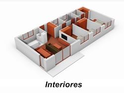 Casas prefabricada interior